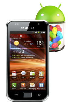 Samsung Galaxy S PLUS GT I9001 got Updated with Jellybean 4.2.2