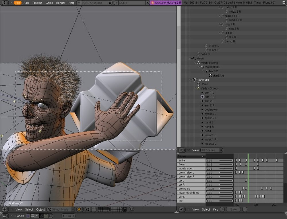 Download blender to create animations visual effects 3d Free 3d software