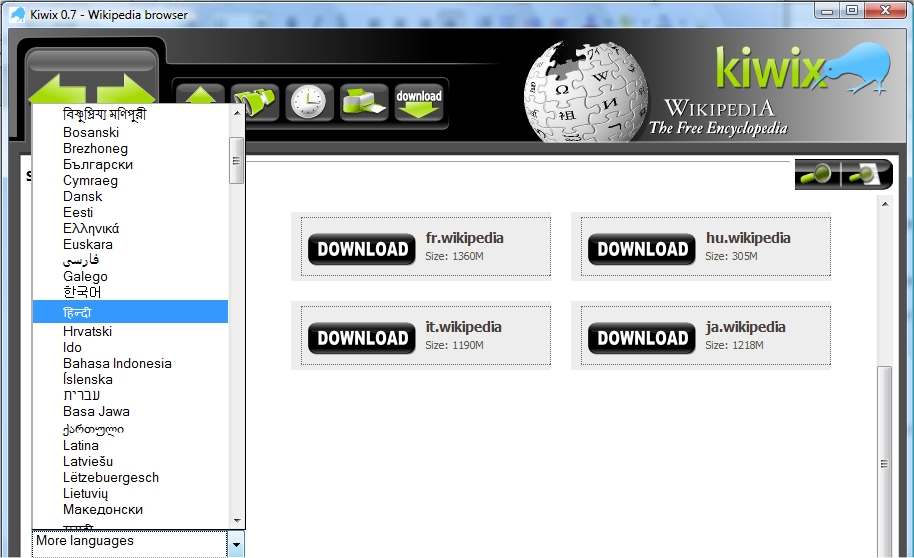 wikipedia app download for pc