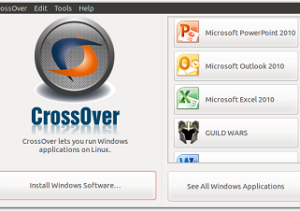 crossover mainwindow