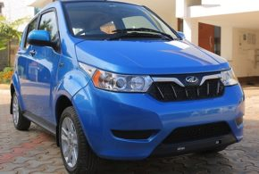 Mahindra launches e2oPlus in India at Rs. 5.46 Lakh