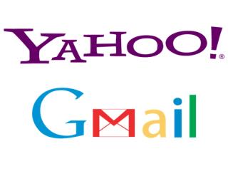 yahoo & gmail