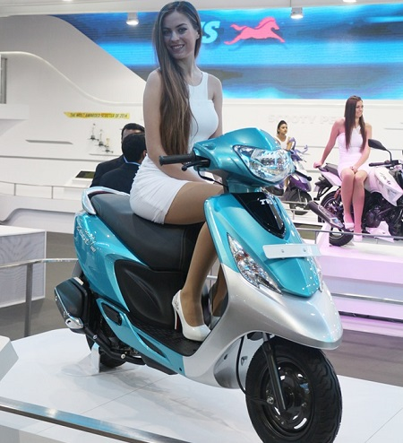 Peachy New Tvs Scooty Zest 110 Launched Ncnpc Chair Design For Home Ncnpcorg