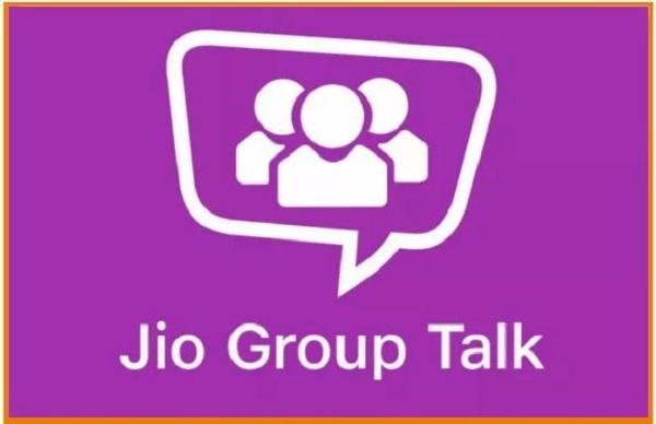 JioGroupTalk App