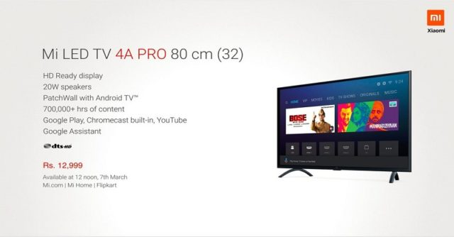 Xiaomi Mi TV 4A Pro