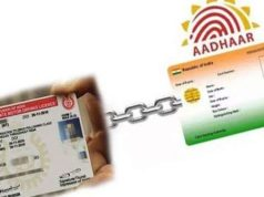 aadhaar driving licence link