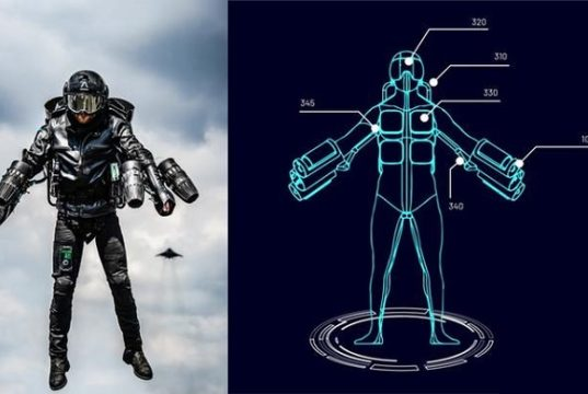 World's First Flying jet suit