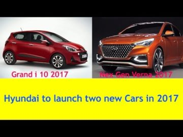 Upcoming Hyundai Cars in 2017